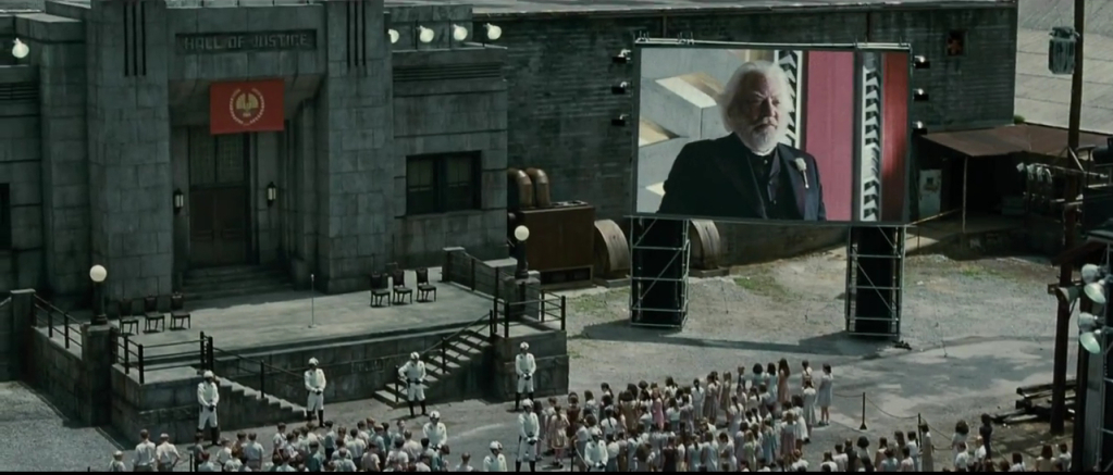 what is the reaping in hunger games