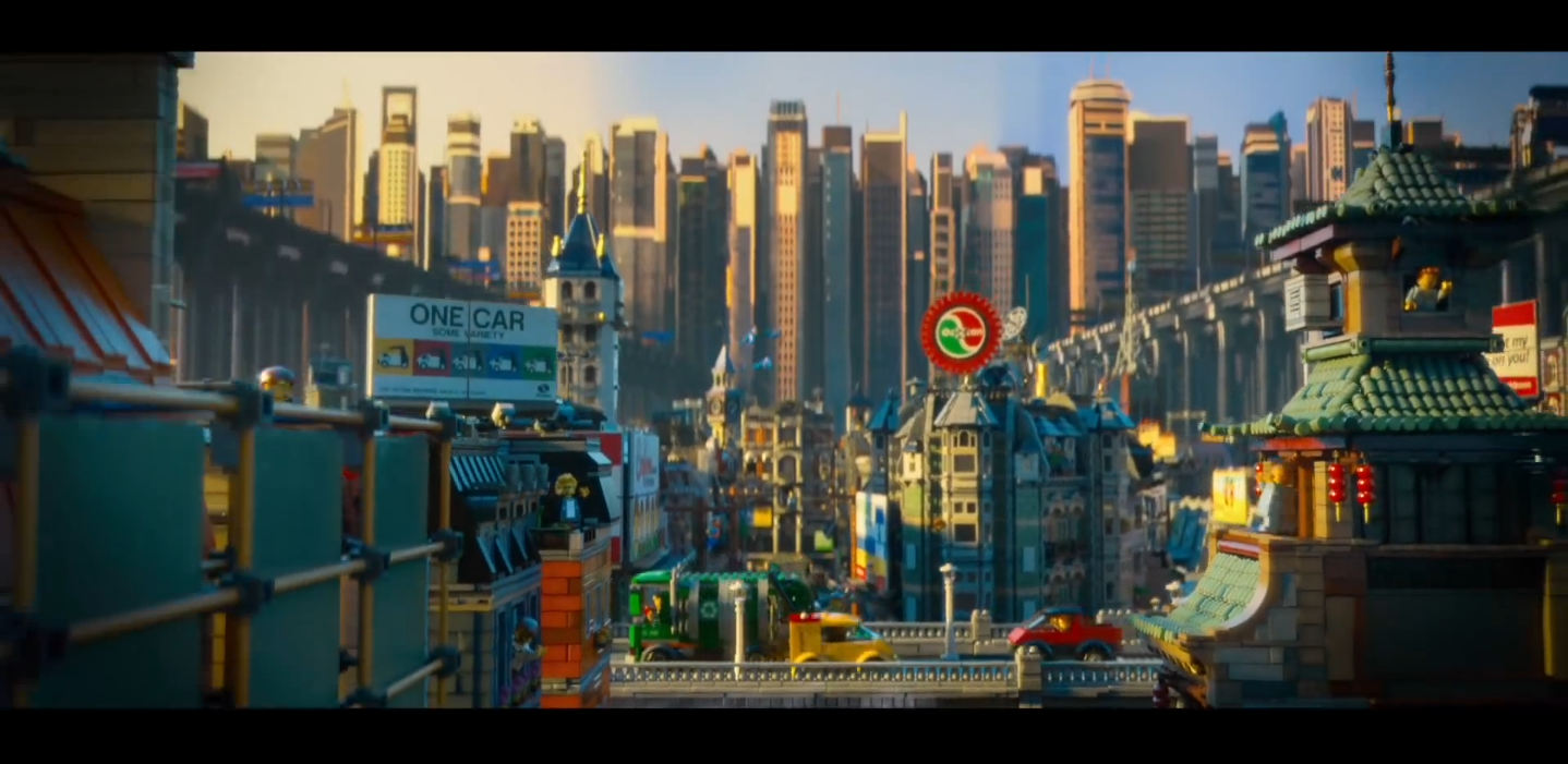 lego movie city background - photo #19